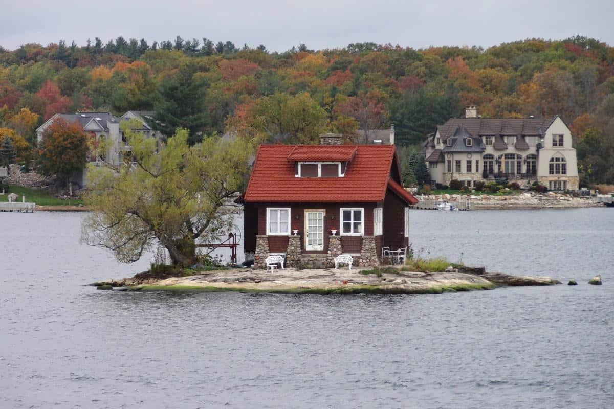 Kleines Ferienhaus in den Thousand Islands