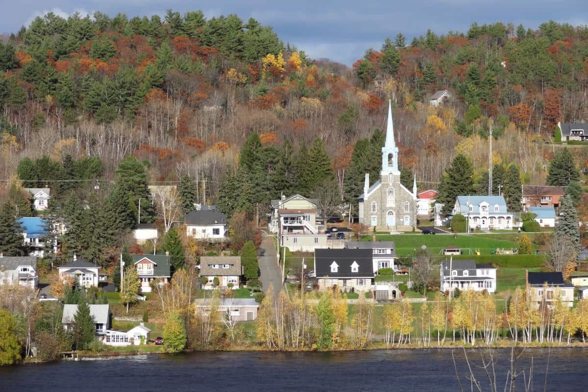 Herbstliches Ostkanada