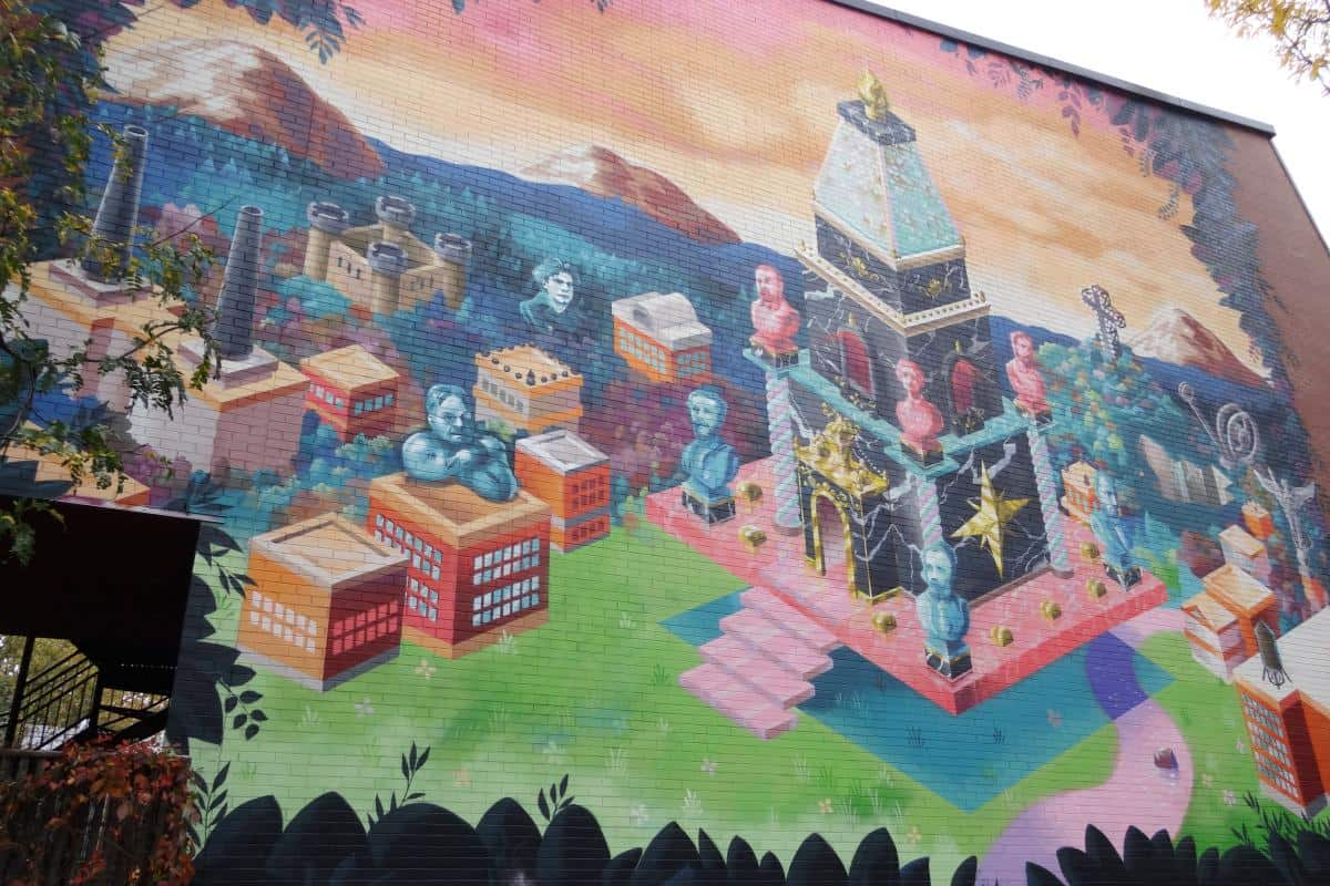 Streetart im Plateau Mont-Royal