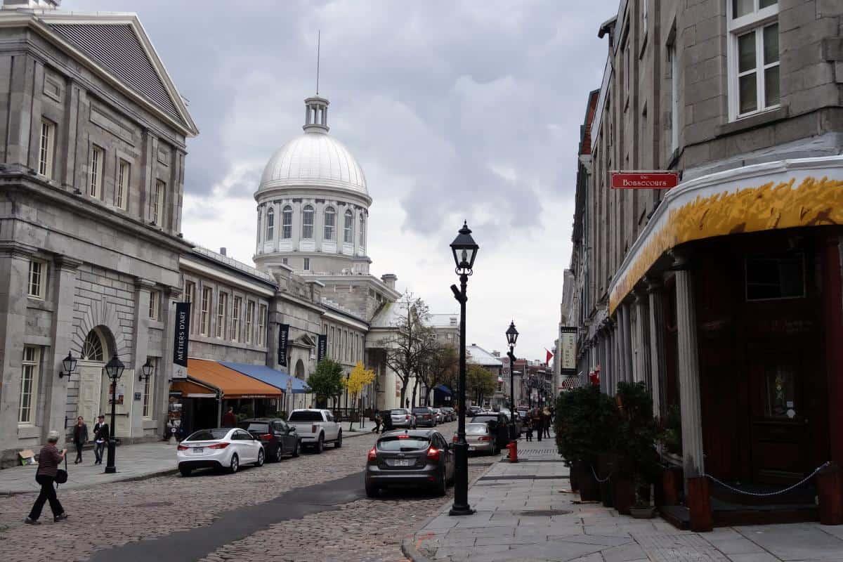 Altstadtgasse in Montreal