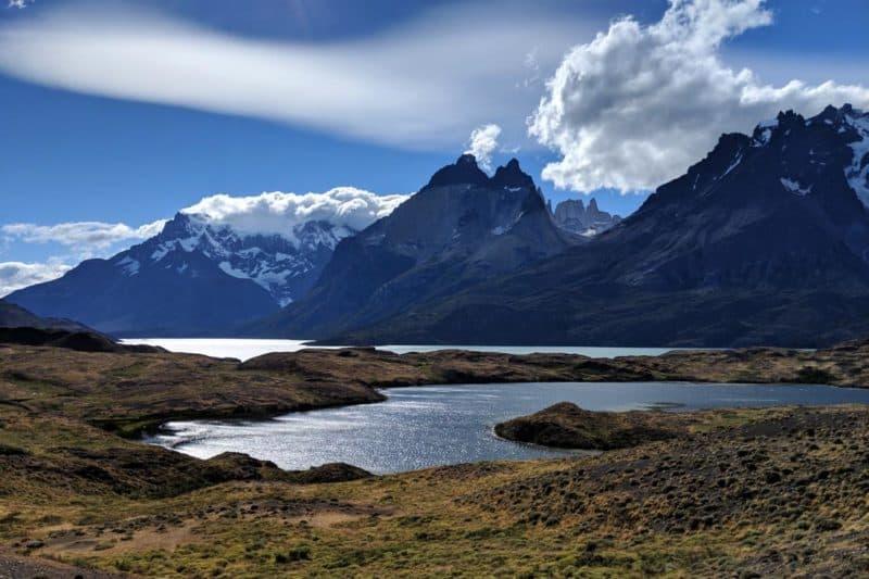 Cuernos del Paine hinter dem Lago Nordenskjöld