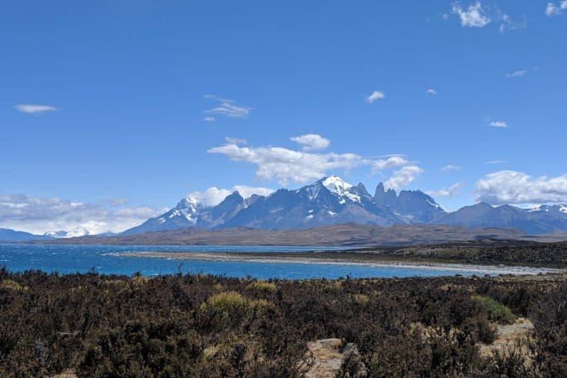 Das Paine-Massiv hinter dem Lago Sarmiento