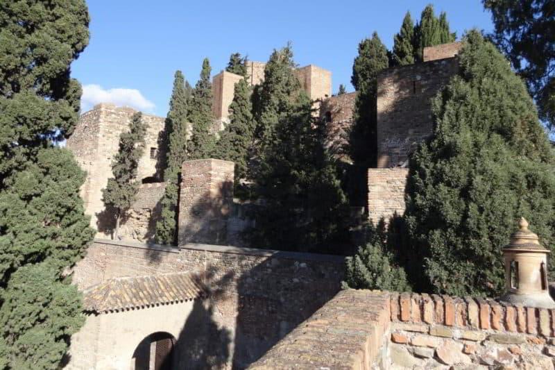 Die Alcazaba von Málaga