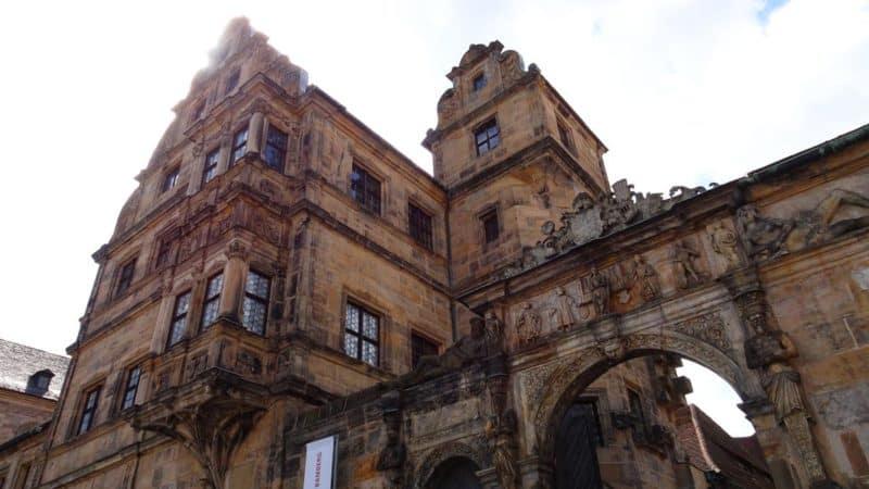 Eingangsgebäude der Alten Hofhaltung in Bamburg