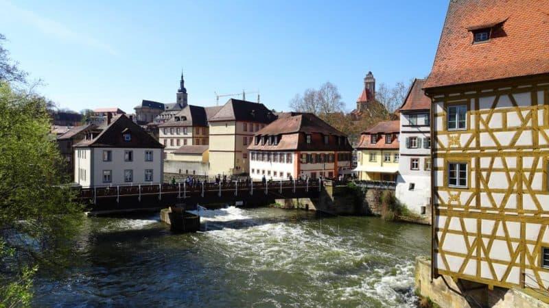 Regnitzbrücke in Bamberg