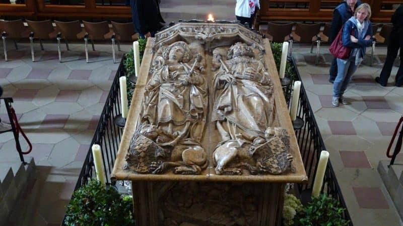 Kaiserliches Hochgrab im Bamberger Dom