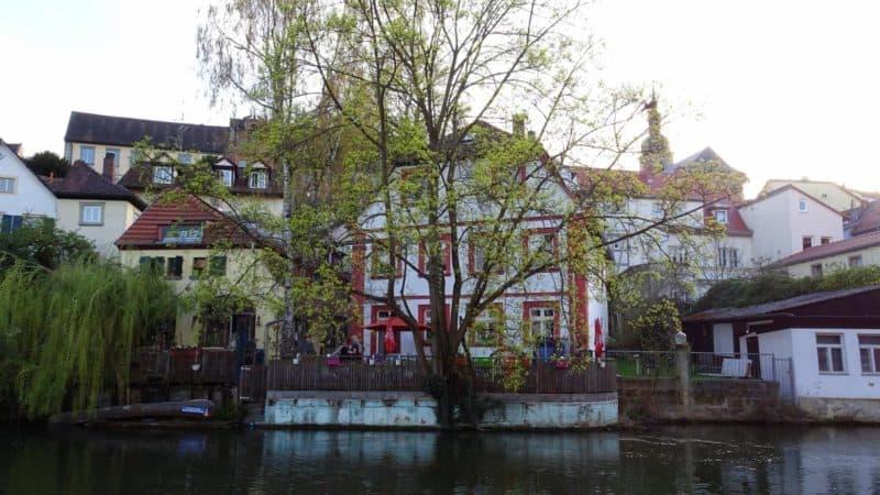 Haus mit Garten an der Regnitz in Bamberg