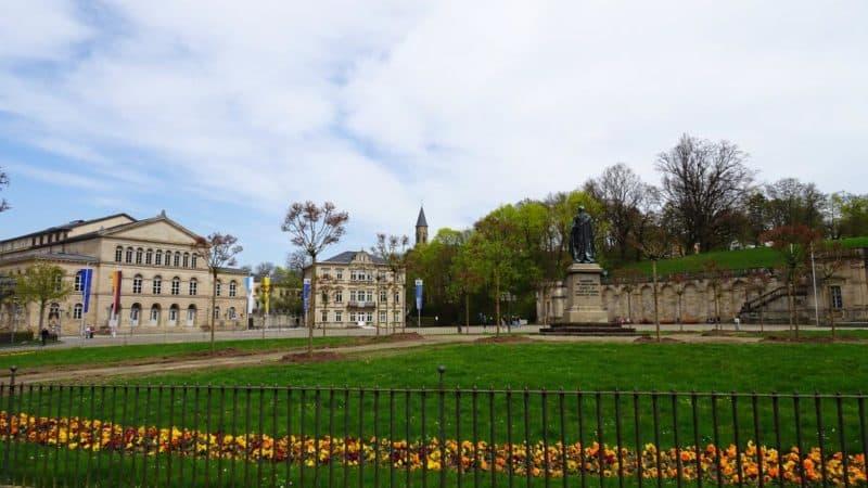 Schlossplatz in Coburg