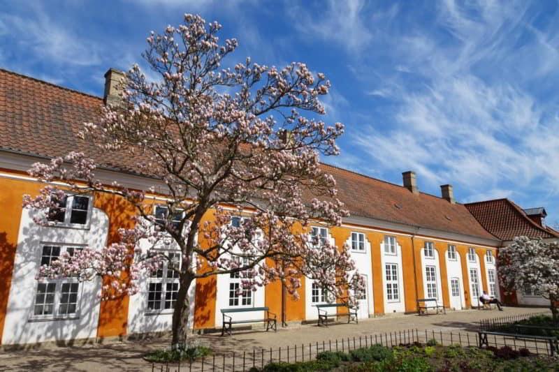 Sehenswürdigkeit in Kopenhagen: Frederiksberggarten in Frederiksberg