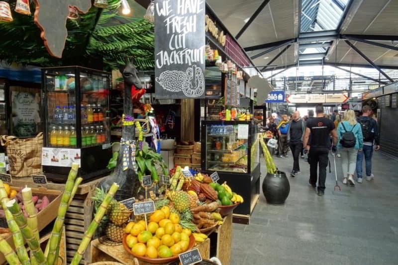 Streetfood in Kopenhagen: Markthalle Torvehallerne