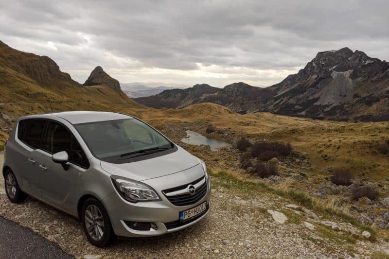 Roadtrip durch Montenegro - mit dem Auto im Durmitor-Nationalpark