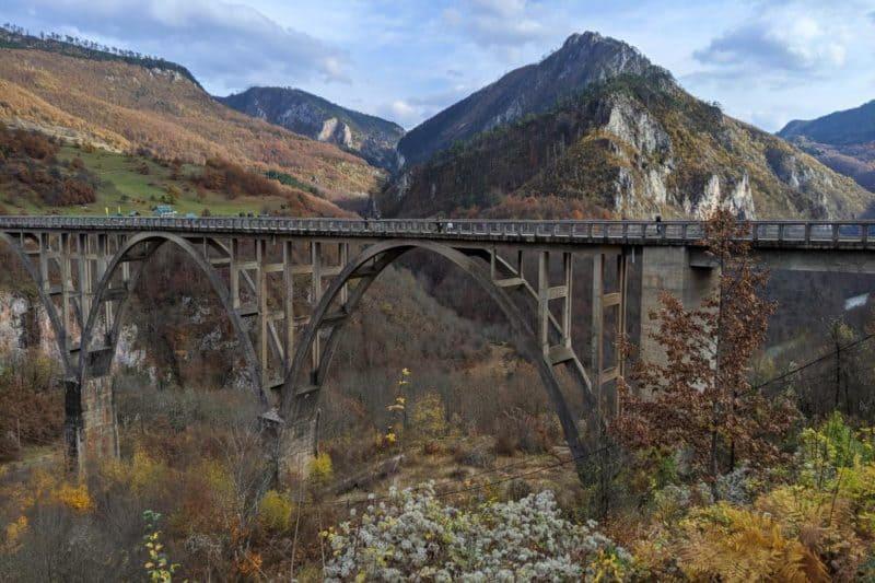 Đurđevića-Tara-Brücke in Montenegro