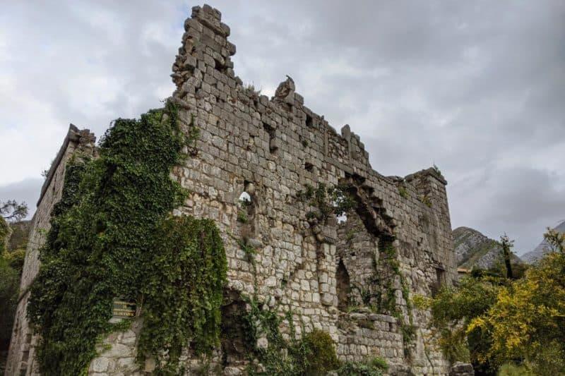 Ruine in Stari Bar