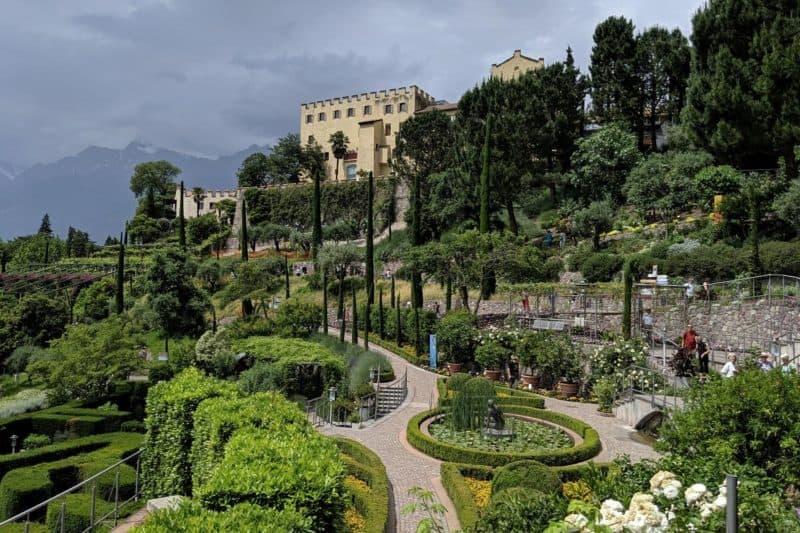 Gartenanlagen von Schloss Trauttmannsdorff