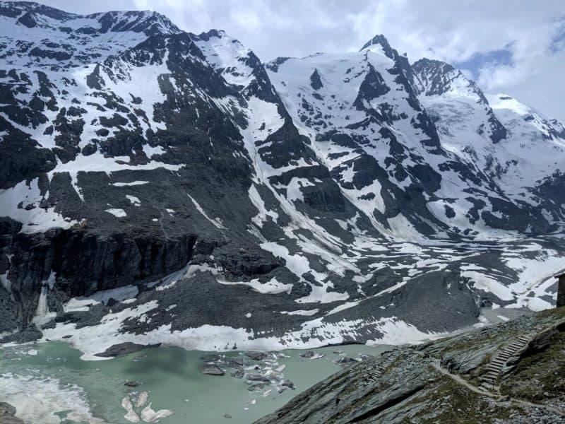 Blick auf den Großglockner von der Kaiser-Franz-Josefs-Höhe