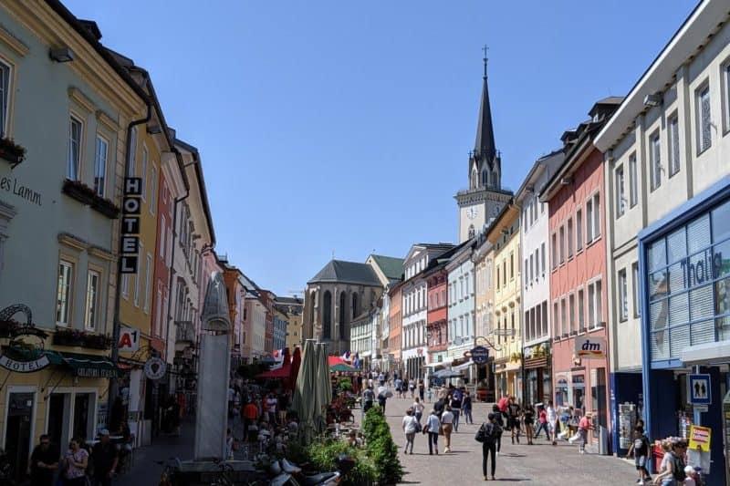 Hauptplatz in Villach