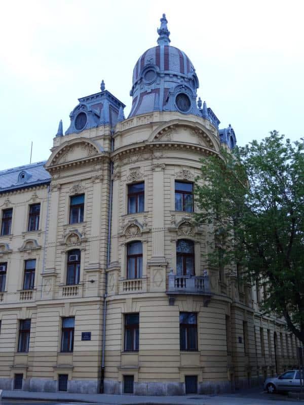 Schöner Altbau in Zagreb