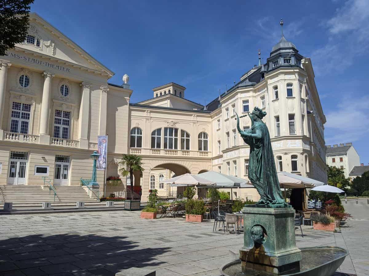 Alstadtplatz in Baden bei Wien