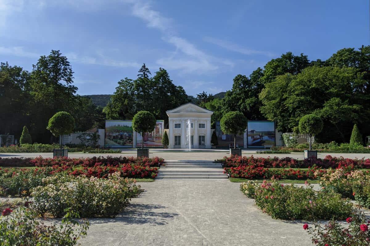 Rosarium im Doblhoffpark Baden