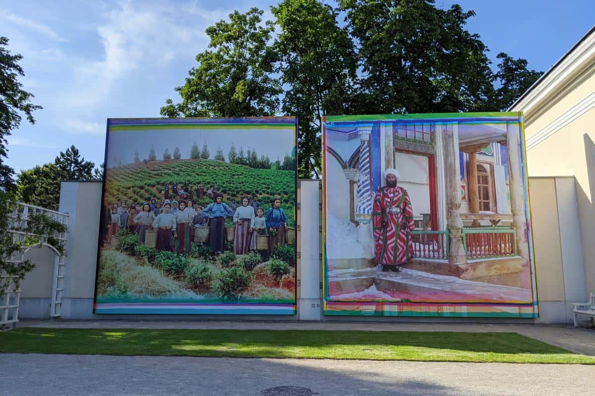 Riesige Fotos aus Russland zur Zeit des Zarenreichs